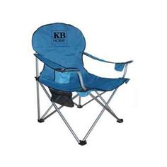 The Custom Branded Heavy Duty Folding Chair is made of 600 Denier polyester. It has a 400 lb capacity, extra wide body with high back head rest support. Features side mesh pocket, back pocket and dual cup holders. Includes carry case with drawstring closure and has a 19mm steel frame.