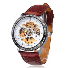 2f9e5857f5c Men s Automatic Self Wind Analog Hollow Engraving Skeleton Watch. Get  incredible discounts up to Off at Light in the Box using Coupon and Promo  Codes.