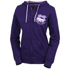 Roush Automotive Collection Store - Ford Mustang Ladies Purple Full Zip Hoodie (2975), $47.99 (http://store.roushcollection.com/ford/ford-mustang-ladies-purple-full-zip-hoodie-2975/)