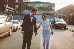 Boho Greenpoint Loft Wedding // The best wedding pictures are the ones where you can tell they love each other (: