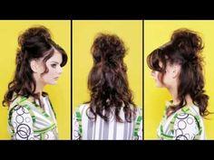 """Dana"" at Sharon Blain long hair styling"