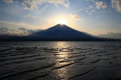 Mt. Fuji (Diamond Fuji)