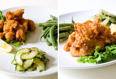 Eat for Eight Bucks: Japanese Fried Chicken and Two Simple Salads Recipe