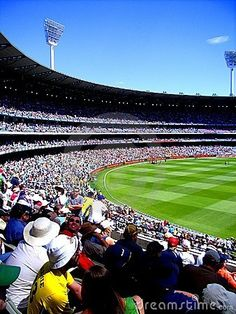 Stock photo: Photograph taken during Day 1 of the Boxing Day Test at the Melbourne Cricket Ground (MCG) in Australia vs India (Australia). Victoria Australia, Melbourne Australia, Melbourne Victoria, Boxing Day, Pilgrimage, Gold Coast, Continents, World Cup