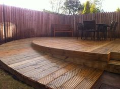 Wheelchair Ramp and Decking modern