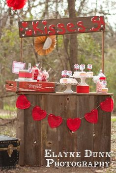 """Valentine's Day """"Vintage Kissing Booth"""""""