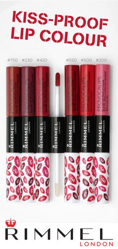 Need a long-lasting lipstick that's kiss-proof and transfer-proof? Provocalips Liquid Lipstick from Rimmel London has a two-step, color + top coat system that gives each gorgeous shade serious staying power. Click here to learn how you can treat your lips.
