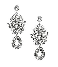 Natasha Accessories Drama Chandelier Earrings | Dillards.com