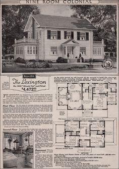Sears, Roebuck Mail Order Home, The Lexington