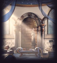 This will be the Ravenclaw Common Room! Comment if you have been sorted into Ravenclaw!