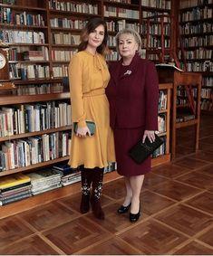 Takhle to slušelo Ivaně Zemanové a její dceři Kateřině na inauguraci Miloše Zemana.