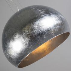 Lámpara colgante ENCO plateado #diseño #iluminacion #decoracion