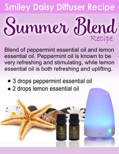 The Best Summer Essential Oil Recipes for Your Diffuser