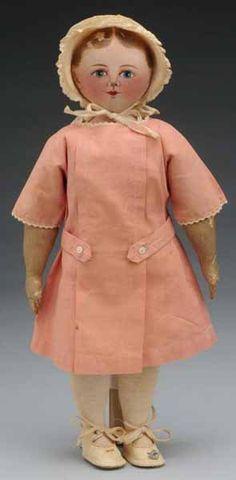 Rare All Cloth Maggie Bessie Doll. : Lot 214