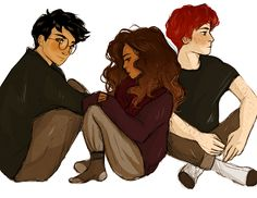 drawing the three of them chillin' together gives me lots of feelings. the rest of my drawings on sparknotes! <3