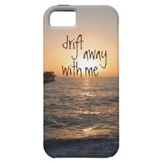 Ocean and Quote iphone 5 Case
