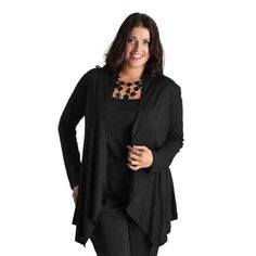 PRE-ORDER - Everyday wrap cardigan (BLACK) $39.50 http://www.curvyclothing.com.au/index.php?route=product/product&path=95_104&product_id=6832&limit=75