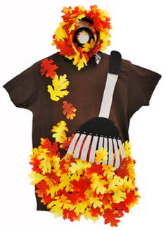 A.C. Moore no sew Pile O' Leaves Costume by Amy Hartman A.C. Moore Manahawkin, NJ