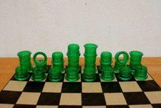 Faça seu próprio Jogo de Xadrez com Garrafas Pet