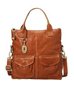 Fossil Handbag, Modern Cargo Convertible Tote - Handbags & Accessories - Macy's. Looking for the mint version. I need this! Really, I NEED this!