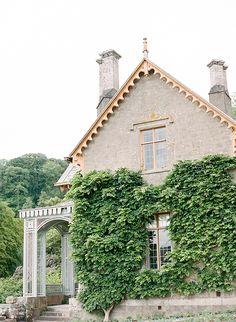 Taylor & Porter Fine Art Film Photography. Elegant English Country Inspiration via Magnolia Rouge. Hotel Endsleigh, Devon.