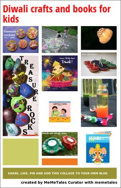 Diwali crafts and books for kids