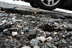 A #ripothole on Libera Street in Cranston needs immediate work.