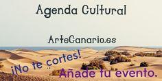 La Agenda Cultural de ArteCanario.es la hacemos entre todos.  ¡No te cortes y añade tu evento!  https://artecanario.es/agenda-cultural-de-canarias/anade-tu-evento/submission.html  #artecanario #exposición #arte #canarias #eventos #agendacultural #charlas #cursos #pintura #escultura #fotografía #canario
