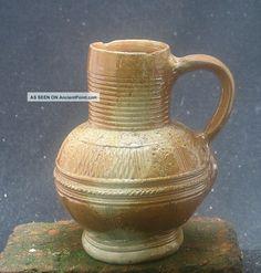 Top Quality German,  Raeren,  Stoneware Jug Early 17th Century. Jugs photo