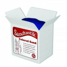 Sandtastik Colored Play Sand-25 lbs. Color - Pink Sand by Sandtastik Products Inc. $29.99. Sand has a natural sparkle. Safe, non-toxic, no free silica or quartz. Colored play sand in 25 lb. box. Choose from a variety of bold, beautiful colors. Suitable for indoor sand tables and classrooms. Teachers and daycare providers will love this 25 lb. box of Sandtastik Colored Play Sand. This large quantity of colored sand will keep big groups of kids busy with arts and cra...