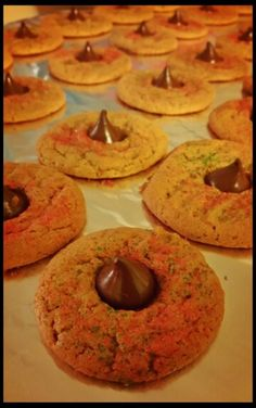 Mmm:) #PeanutButter #Cookies with #Hershey #Kisses!:) My Favorite #ChristmasCookie, what's Yours?!:) #MerryChristmas Peeps!:)   Pic: #JamminJo 2015   #HappyHolidays #merryxmas #xmas