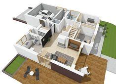 Projekt domu Astrid II G2 (mała) energo 99,44 m² - koszt budowy - EXTRADOM Design Case, Malaga, Kids Rugs, Home Decor, Homemade Home Decor, Kid Friendly Rugs, Interior Design, Home Interiors, Decoration Home