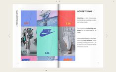 Be inspired by this wonderful Nike catalog.  Click to view all pages Magazine Design Inspiration, Magazine Layout Design, Magazine Layouts, Graphic Design Resume, Brochure Design, Creative Cv Template, Catalogue Layout, Brochure Examples, Annual Report Design