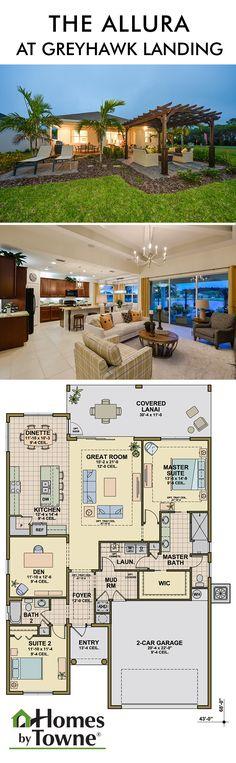 The Allura At Heron Park Greyhawk Landing Bradenton Florida New Home