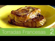 Receita Torrada Francesa (French Toast) - Rabanada - Gourmet a dois - YouTube