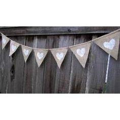 banderines de tela para casamientos