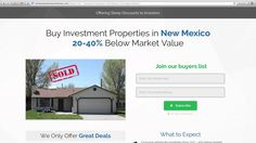 We're offering steep discounts on homes for sale in New Mexico. Our New Mexico investment properties are priced 20-40% below market value because we need to sell them fast. If you're a cash buyer, then you gotta be on our wholesale New Mexico homes buyers list.