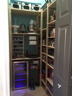 Remodel you pantry with ikea's IVAR shelving.