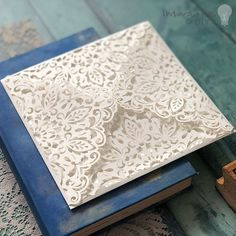 How to make luxury boxed laser cut invitations imagine diy diy wedding stationery supplies see more georgia laser cut invitation in white white laser cut invitation with lace pattern junglespirit Images