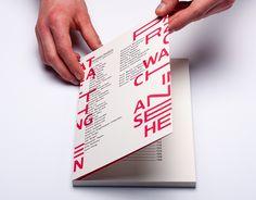 "Check out this @Behance project: ""Patrząc Watching An sehen catalog"" https://www.behance.net/gallery/35779221/Patrzac-Watching-An-sehen-catalog"