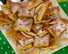 Postre de peras y manzanas