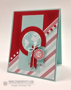 Stampin up stampinup order online pretty card ideas masculine birthday catalog punch round array bitty banners framelits