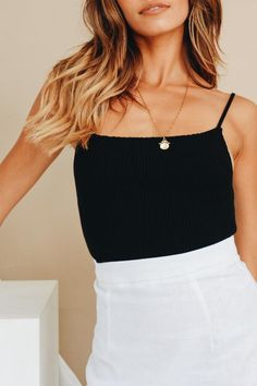 We're obsessing over our latest drop of women's tops. Shop our range of feminine and chic tops and crops for the ultimate cool girl look! Going Out Tops, White Casual, Vintage Denim, Cool Girl, Cami, Skater Skirt, Mini Skirts, Feminine, Style Inspiration