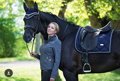 Equestrian Stockholm Equestrian Outfits, Equestrian Style, Equestrian Fashion, Types Of Horses, Horse Breeds, Saddle Pads, Horse Fashion, Black Horses, Horse Tack