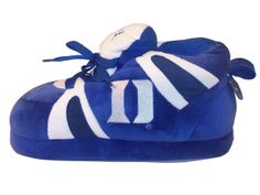Duke Blue Devils College Team Slippers : NCAA : Happy Feet Slippers : BuyHappyFeet.com : Comfy Feet Slippers