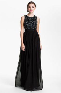 Prom Lace Inset Crepe Gown. I want this one so flipping bad. With my ...
