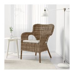 BYHOLMA / MARIEBERG Chair  - IKEA  $115, gray, possible for porch or breakfast nook? Includes cushion but looks like it would need to be beefed up.