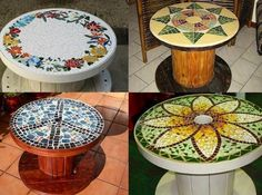 DIY Wood Wire Spool Furniture Ideas and Tutorials. Old wooden spools are one of the most suitable and low cost materials for DIY transformations. You may use them to make unique projects to get brand new fur