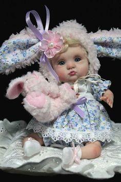 OOAK Polymer Clay Dolls | OOAK Baby Art Doll Polymer Clay by Svitlana