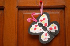 How to Make a Painted Paper Butterfly